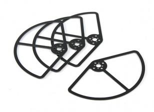 Protección de hélice para la Clase 250 Racer (5 pulgadas) Conjunto de 4