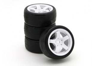Barrer SWP-MN33 Mini Touring completa 33deg juego de neumáticos (4pcs)