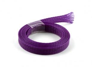 Malla de alambre de Guardia púrpura de 8 mm (1m)