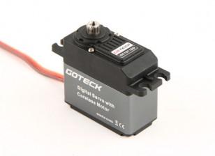Goteck DC1611S Digital MG alto par ETS Servo 22kg / 0.14sec / 53g