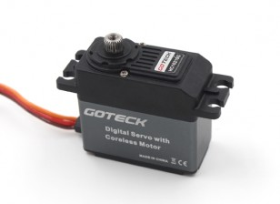 Goteck HC1621S HV Digital MG alto par ETS Servo 23 kg / 0.12sec / 53g