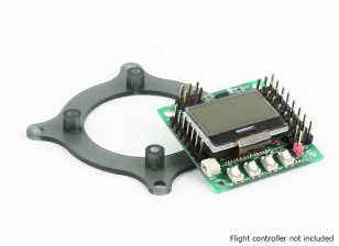 Adaptador Mini regulador de vuelo Base de montaje 45 / 30,5 mm Naze32, KK Mini, CC3D, Mini-APM (30,5 mm, 36 mm)