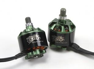 Multistar Elite 2312 980KV Ajuste del motor CW / CCW EZO Cojinetes, 4mm eje principal, N45SH Imanes (2 motores)