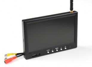 7 pulgadas de 800 x 480 de 5,8 GHz receptor FPV monitor Fieldview 777 RX32