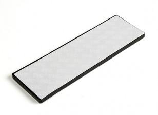 La absorción de vibraciones Hoja 145x45x3.3mm (Negro)