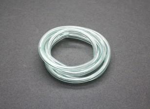 tubería de combustible de silicio (1 metro) 4.5x2.5mm Verde (Nitro Motores y Gas)