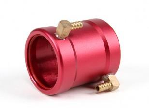 CNC agua camisa de refrigeración 28mm En-Runner Motors (rojo)