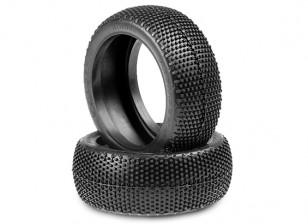 JConcepts Híbridos 1 / 8th Neumáticos Buggy - Verde (Super Soft) Compuesto
