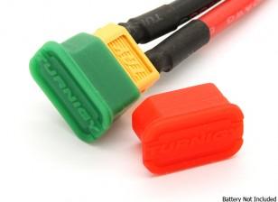 Acusado XT60 / casquillos descargada indicador de batería (5 pares)