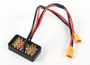 Alto / alto voltaje placa de distribución de alimentación de corriente para Multi-helicópteros 40 ~ 60A Capacidad