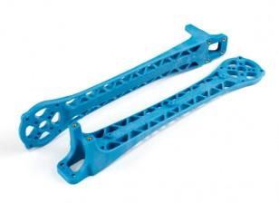 Promueve upswept armas para DJI Flamewheel Estilo multirrotor V500 / H550 (azul) (2 unidades)