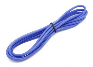 Turnigy alta calidad de silicona 16AWG Wire 1m (azul)