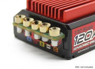 TrackStar fácil Montaje de Conectores ESC (5 pares / set)