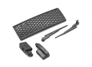 Limpia / espejo lateral / Set Grill - Kit OH35P01 1/35 Rock Crawler