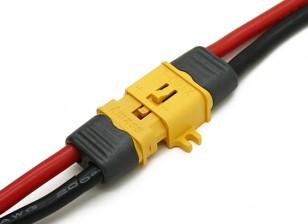 XT60 Conector macho / hembra con la cerradura y la tapa de aislamiento (5 pares)