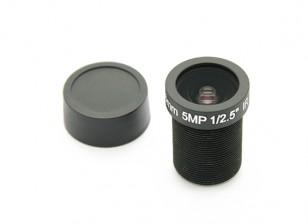 "3.6mm / 5MP lentes IR Junta F2.0 1 / 2.5 ""130 °"