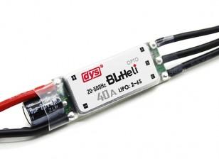 Controlador DYS 40amp Mini Opto BLHeli multi-rotor de velocidad electrónico (BLHeli firmware) SN40A