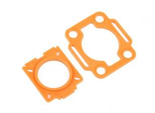 HobbyKing ™ Color 250 Mobius / COMS placas de montaje (Naranja)