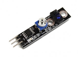 Keyes vehículo inteligente rastreo del sensor de caza Negro / White Line para Arduino
