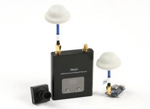 Quanum FPV Set Bundle con 600TVL cámara, transmisor de 600mW y receptor de diversidad 40CH