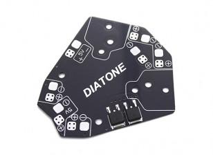 Placa de distribución de DIATONE ET 150/180 Clase Micro Multirotor de alimentación con 5V Stepdown