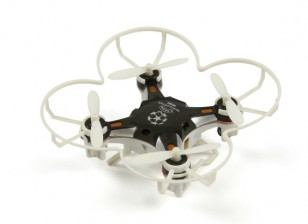 FQ777-124 bolsillo Drone 4CH Gyro 6Axis Quadcopter Con conmutable Controller (RTF) (Negro)