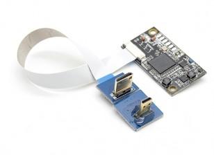 RCD 3016J HDMI al convertidor del puerto AV