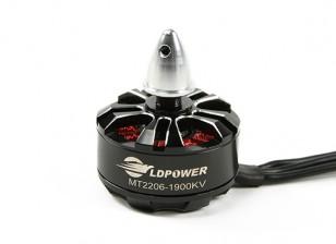 LDPOWER MT2206-1900KV sin escobillas del motor de Multicopter (CW)