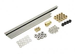 Turnigy Mini Fabrikator 3D v1.0 impresora de piezas de repuesto - Conjunto de metal 1