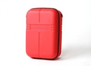 Transmisor Turnigy caso w / FPV anteojos de almacenamiento - Rojo