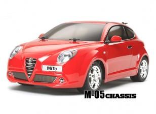 Tamiya 1/10 Alfa Romeo MiTo w / M05 Kit de chasis 58453