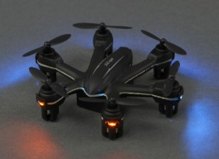 MJX X900 Nano Hexcopter Con 6-Axis Gyro 2 Modo listo para volar (Negro)