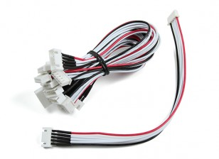 20cm JST-XH Cable de extensión 4S (10pcs / bag)