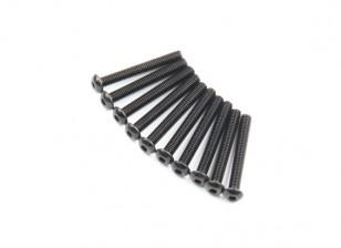 Ronda de metal Machine Head Tornillo hexagonal M2.6x20-10pcs / set