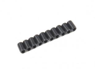 De metal tornillo de cabeza hendida M3x5-10pcs / set