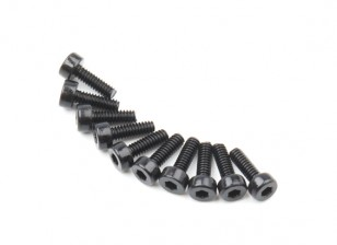 Zócalo de metal Machine Head Tornillo hexagonal M2x6-10pcs / set