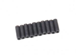De metal tornillo de cabeza hendida M2x6-10pcs / set