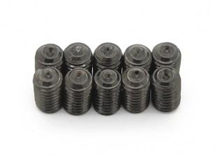 De metal tornillo de cabeza hendida M5x8-10pcs / set