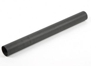 La fibra de carbono del tubo redondo 500x50x47mm