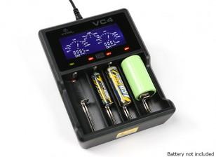 XTAR VC4 cargador de Ni-MH / baterías de iones de litio (4 puertos)