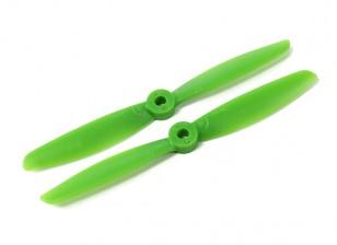 Hobbyking 5040 Poliéster / nylon verde CW / CCW Conjunto