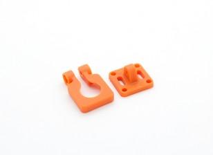 Lente de la cámara DIATONE montaje ajustable para cámaras en miniatura (naranja)