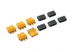MR30 - 2.0mm Pin 3 Motor de ESC Conector (30A) Solo Mujeres (5 sistemas / bolsa)