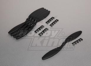 GWS Estilo Slowfly hélice 9x3.8 Negro (CCW) (5pcs)