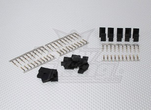 JST SH-Servo Plug Set (Futaba) enchapado en oro (10pairs / set)