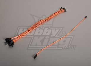 40CM Servo plomo (JR) 32AWG Ultra Light (10pcs / bag)
