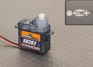 Manía Rey S0361 3,6 g / .45kg / .12sec servo micro