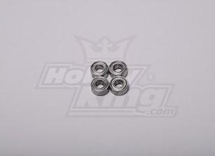 HK-500GT de rodamientos a bolas de 9 x 4 x 4 mm (Alinear parte # H60103)