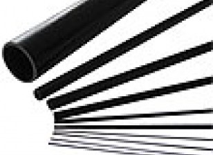 De carbono varilla de fibra (sólido) 1.8x750mm