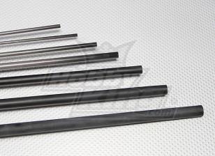 Tubo de fibra de carbono (hueco) 14x750mm